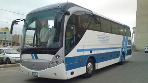 طرح عطاء تقديم خدمات طعام وشراب وخدمات ضيافة  على متن حافلات شركة جت