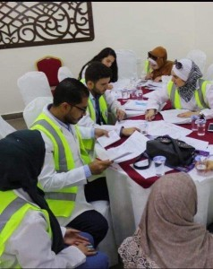 طلبة الصيدلة بجامعة البترا يشاركون بيوم صحي في عجلون