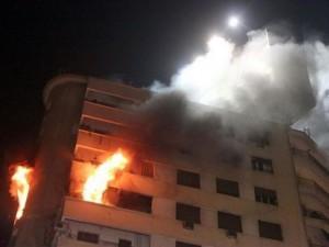 وفاة طفل بحريق شقة في الزرقاء
