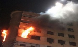 وفاة سيدة إثر حريق منزل في محافظة الزرقاء