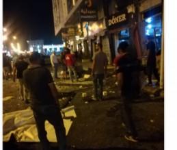 انفجار جرة غاز في مطعم بشارع المدينة المنورة
