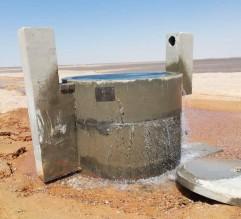 بالفيديو والصور ..اعتداء يوقف ضخ مياه الديسي لعمان والزرقاء ومحافظات الشمال اسبوعا