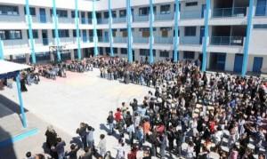 121 ألف طالب وطالبة يلتحقون بمدارس الأونروا