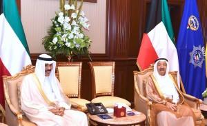 بالصور... أول ظهور لأمير الكويت بعد الوعكة الصحية الأخيرة