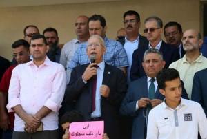 الزعبي يطالب بعلاوة 10% للمهندسين والافراج عن المعتقلين