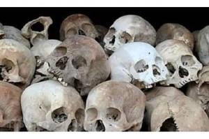 بالصور.. العثور على جماجم وعظام بشرية في قصر رئيس مخلوع