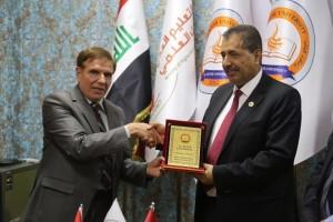 جامعة جدارا تشارك في معرض الشرق الأوسط للتعليم والتكنولوجيا والطلاب في العراق MEETS - مدينة أربيل