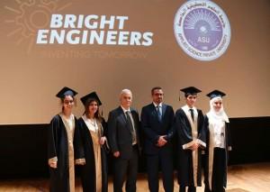 طلبة مدارس النظم الحديثة مبدعون في مجال الروبوت والهندسة وتكنولوجيا المعلومات في برنامج Bright Engineers