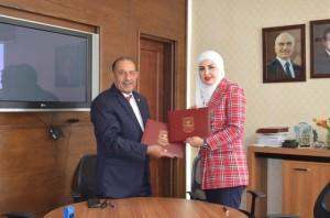 اتفاقية تعاون بين جامعة عمان الأهلية وشركة ميامي للتدريب