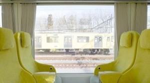 قطار بمقصورات مستوحاة من غرف الجلوس