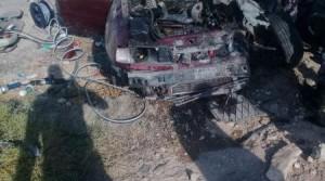 4 وفيات في حادث سير مروع على الطريق الصحراوي