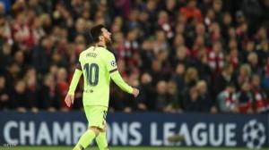ميسي يفاجئ جمهور برشلونة بـ