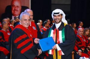 جامعة عمان الأهلية تحتفل بتخريج طلبة الفصل الصيفي من الفوج السادس والعشرين