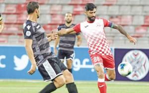 شباب الاردن يقصي حامل لقب البطولة العربية