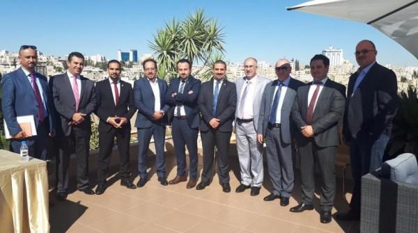 شركة gig-Jordan تستقبل وفدا رسميا من فلسطين للاطلاع على تجربة الكروكا الالكترونية