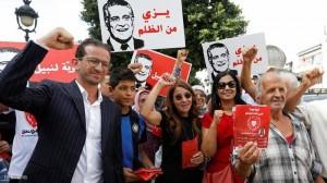 تونس.. القروي يعلن تصدر حزبه بالإنتخابات