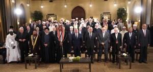 بالصور...الملك يكرم قيادات مشاركة في المؤتمر العام للفكر الإسلامي