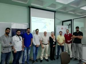 كلية تقنية المعلومات في عمان الأهلية تنظم محاضرة تعريفية بمسابقة شركة هواوي