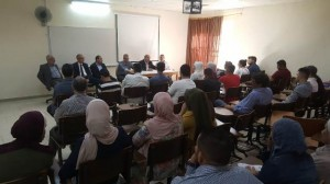 يوم تنويري وجولة بمرافق جامعة عمان الأهلية للطلبة المستجدين في كلية الهندسة