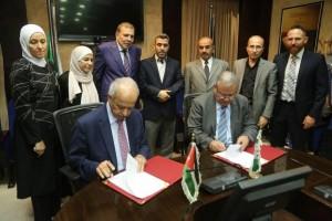 جامعة البترا ومستشفى الأردن يوقعان مذكرة للتعاون والتدريب