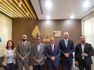 مجموعة الخليج للتأمين – الأردن تفتتح فرعاً جديداً في مجمع الملك حسين للأعمال