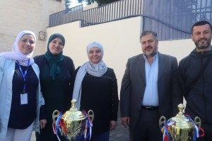بطولة المرحوم الدكتور (احمد الحوراني) الرياضية للمدارس الخاصة في مدارس الجامعة الأولى