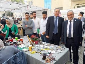 عمان الأهلية تنظم بازار الشتاء