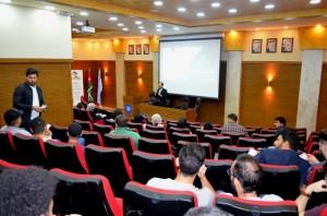 ورشة عمل بجامعة عمان الاهلية حول استخدام التطبيقات الحاسوبية في مجال الهندسة المعمارية
