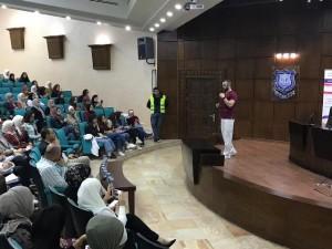 نادي الصحة العامة بجامعة عمان الأهلية يستضيف محاضرة طبية تثقيفية
