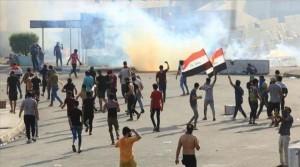 مقتل واصابة عشرات المتظاهرين في العراق