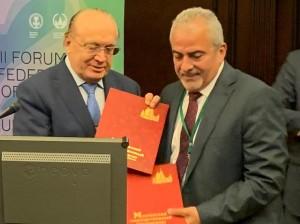 اتفاقية تعاون اكاديمي بين عمان الاهلية وجامعة موسكو الحكومية