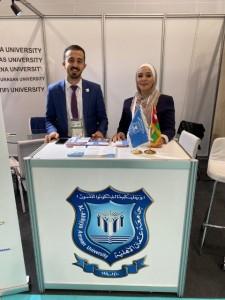 عمان الأهلية تشارك في معرض ومؤتمر HALAL EXPO 2019باسطنبول