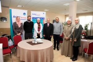 المركز الصحي بجامعة البترا ينظم فعالية مجانية لصحة العيون