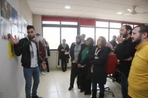 جامعة البترا تنظم معرضًا لطلبة دبلوم التصميم