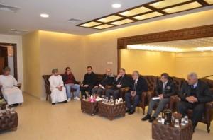 الطلبة العُمانيون في عمان الاهلية يقيمون يوم عزاء بوفاة السلطان قابوس بن سعيد