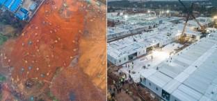 بالصور...الصين تبهر العالم ببناء مستشفى في 8 أيام فقط