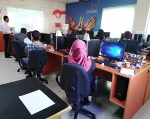 تخريج الدفعة الثانية من طلبة مختبر Orange اليرموك الإبداعي (OYIL)