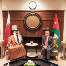 أمير قطر: 10 آلاف فرصة عمل اضافية للأردنيين .. و30 مليون دولار للتقاعد العسكري