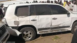 بالصور .. محاولة لاغتيال رئيس الوزراء السوداني في الخرطوم