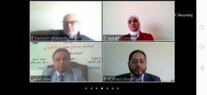 """مناقشة رسالة ماجستير عن بعد الأولى من نوعها بهذه التقنيه في """"عمان العربية"""""""