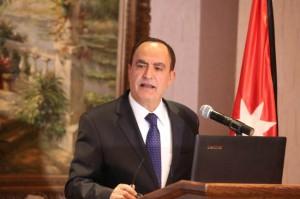نائب رئيس صندوق همة وطن. الصرايرة ( مجموع المساهمات الملتزم بها بلغ ٩٣َ,٥ مليون دينار)