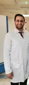 الدكتور أحمد عبيدات مبروك التخرج بتخصص جراحة العظام والمفاصل
