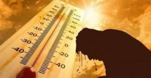 الحرارة أعلى من المعدل بـ 5 درجات