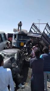 وزارة الاشغال توضح تفاصيل الحادث الطريق الصحراوي