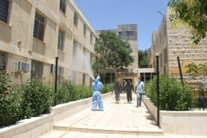 بيان صادر عن جامعة البلقاء التطبيقية حول إصابة عاملة نظافة بفيروس كورونا