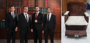 نقابة المهندسين تكرم طلبة عمان الاهلية مبتكري كرسي كهربائي لذوي الاحتياجات الخاصة يعمل باستخدام إشارات حيوية متعددة