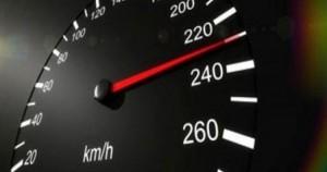 ضبط مركبة تسير بسرعة 171 كم بالساعة على طريق ال 100