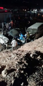 4 وفيات و5 إصابات بتصادم مركبتين في الحسا