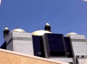 """تدشين مسجد باسم المرحوم د. احمد الحوراني في """"النزهة """" بعمان"""