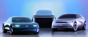 هيونداي موتور تعلن عن علامة IONIQ الجديدة للسيارات الكهربائية